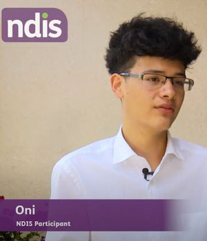 NDIS Stories - Oni's choice and control with the NDIS image